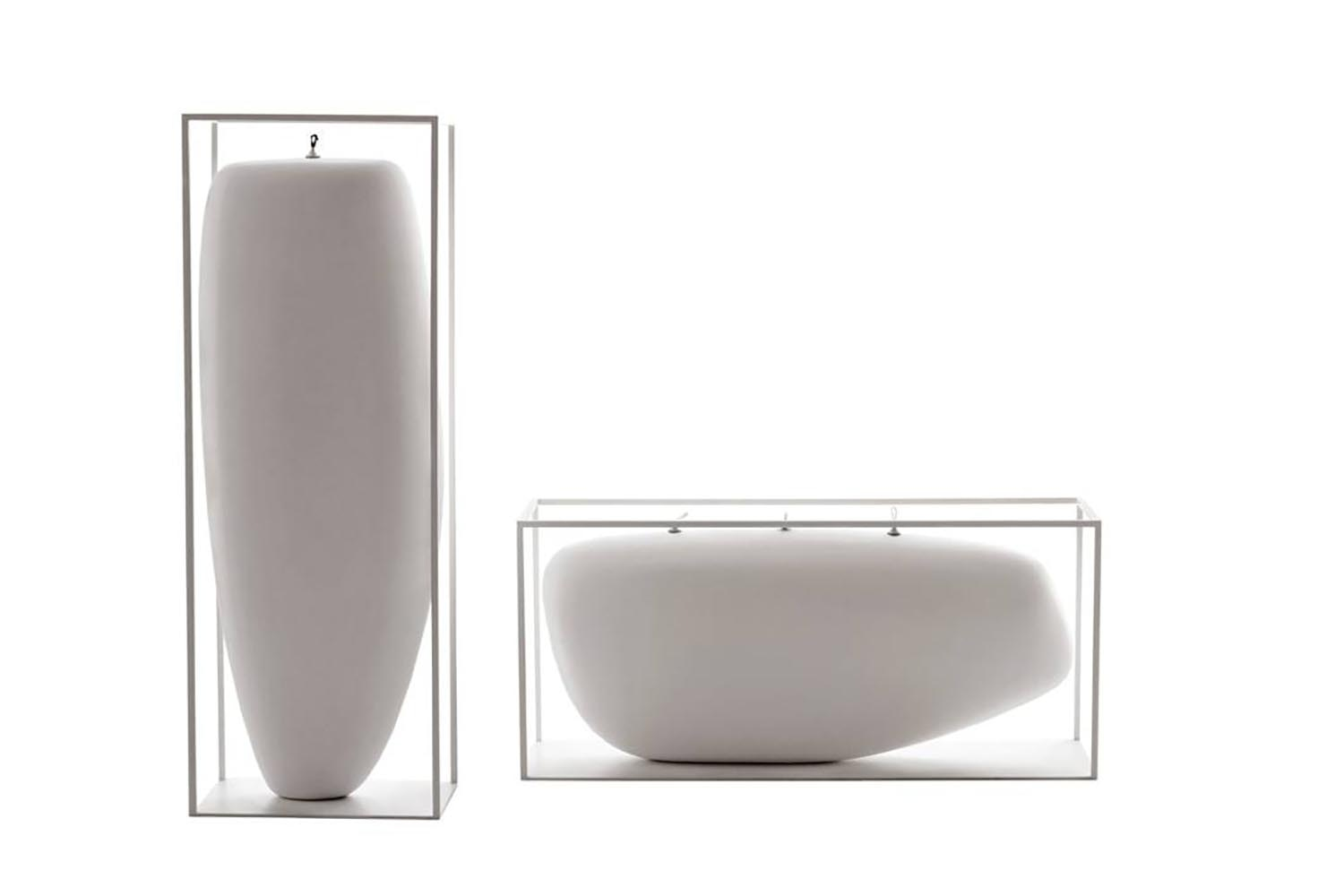 Overscale Flames Outdoor Candle by Jean-Marie Massaud for B&B Italia