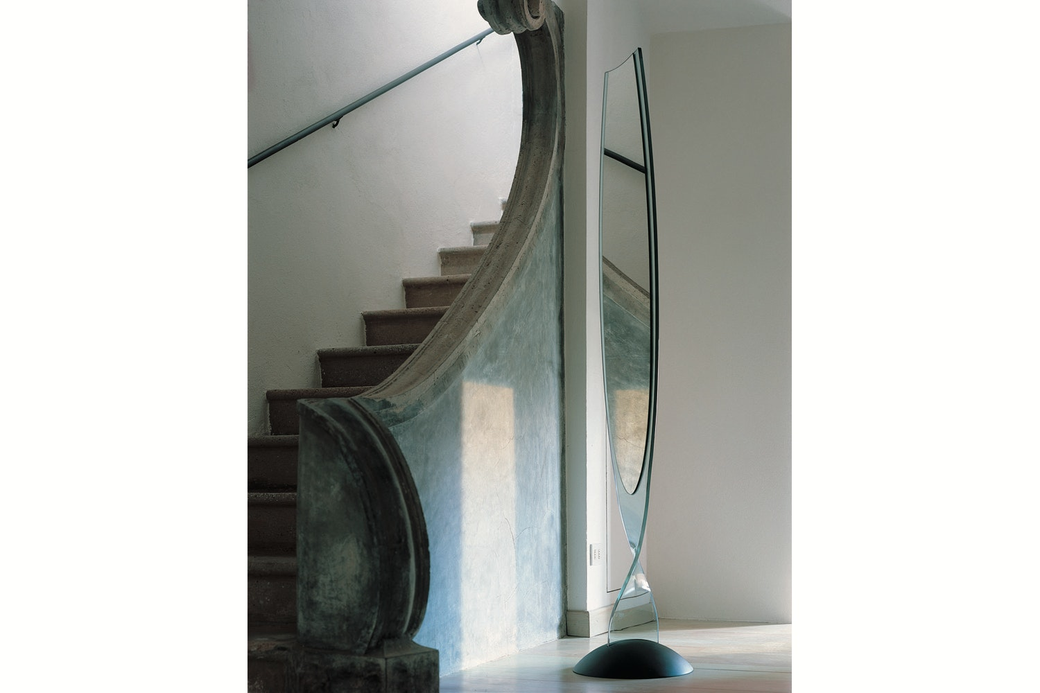 Admiral Mirror by Fabio Di Bartolomei for Fiam Italia