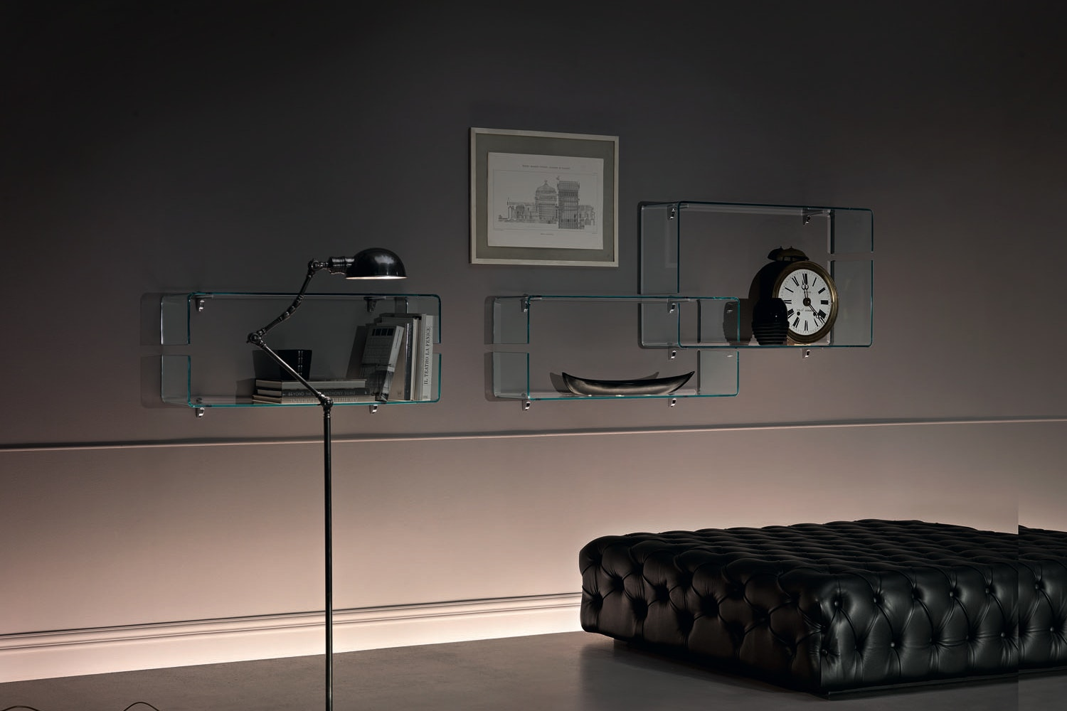 Babila Shelf by Luca Casini for Fiam Italia