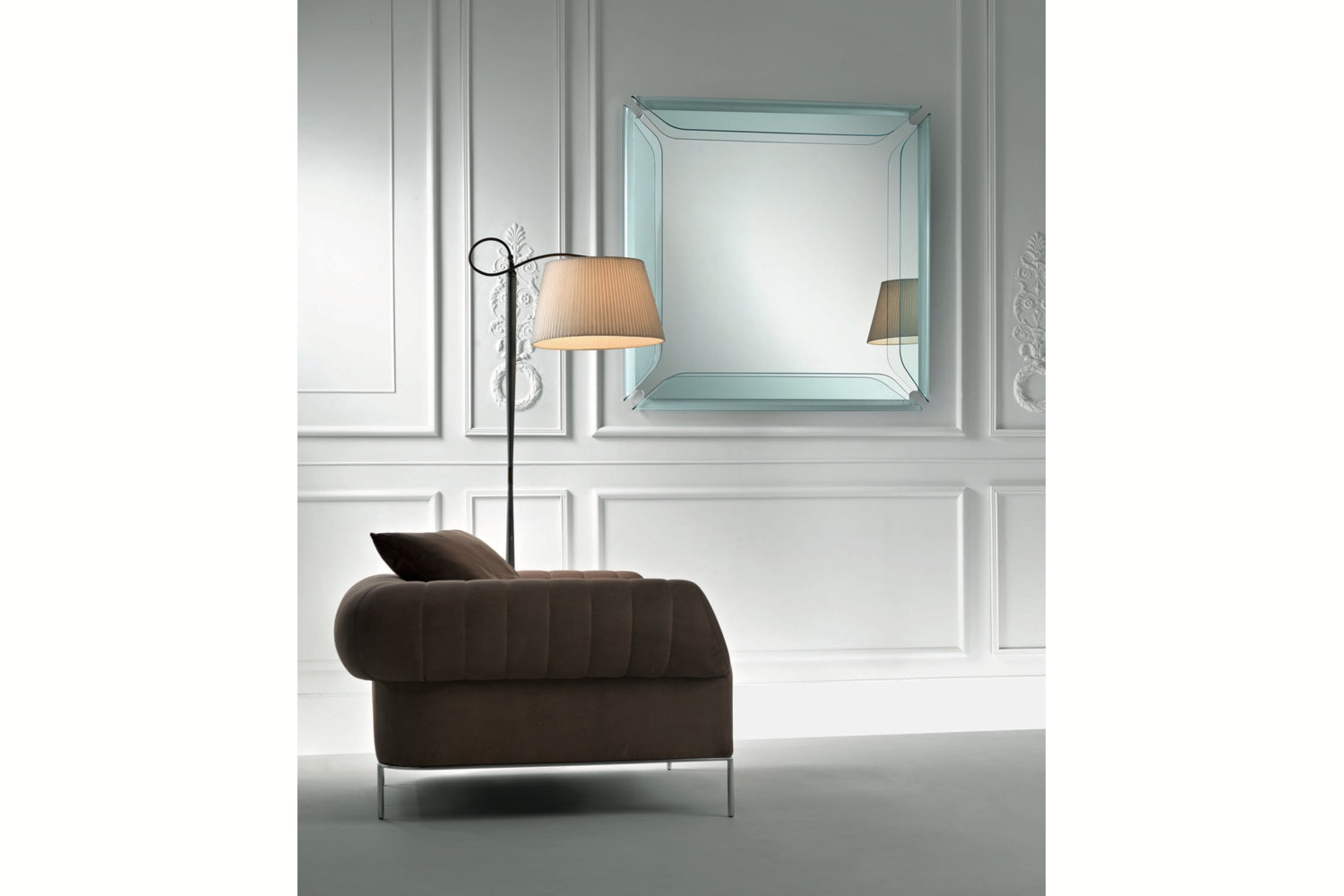 Gallery Mirror by Marco Acerbis for Fiam Italia