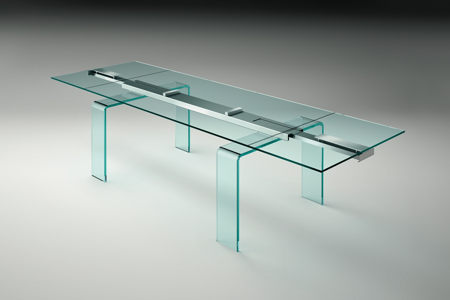 Gauss Extension Table by Bartoli Design for Fiam Italia