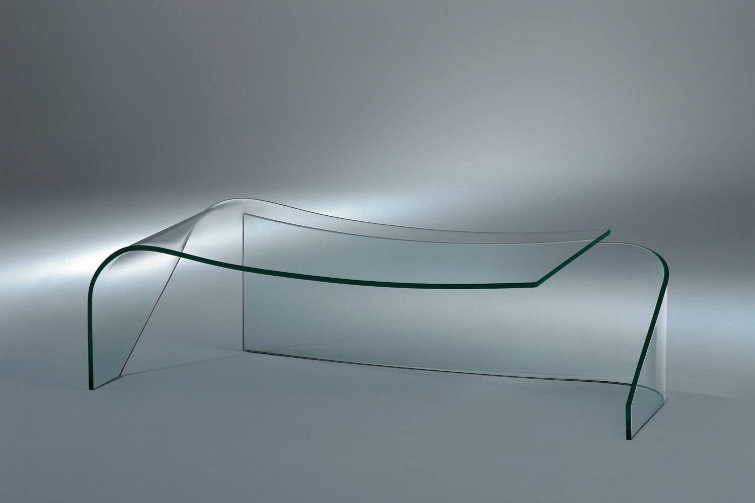 Gemini Coffee Table by Vico Magistretti for Fiam Italia
