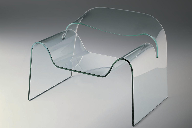 Poltrona Ghost Fiam.Ghost Armchair By Cini Boeri For Fiam Italia Space Furniture