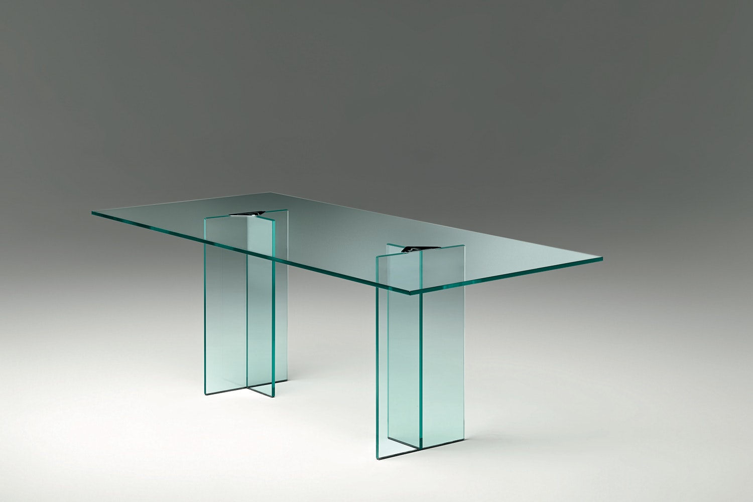 Llt Ofx Executive Table by Dante O.Benini & Luca Gonzo for Fiam Italia