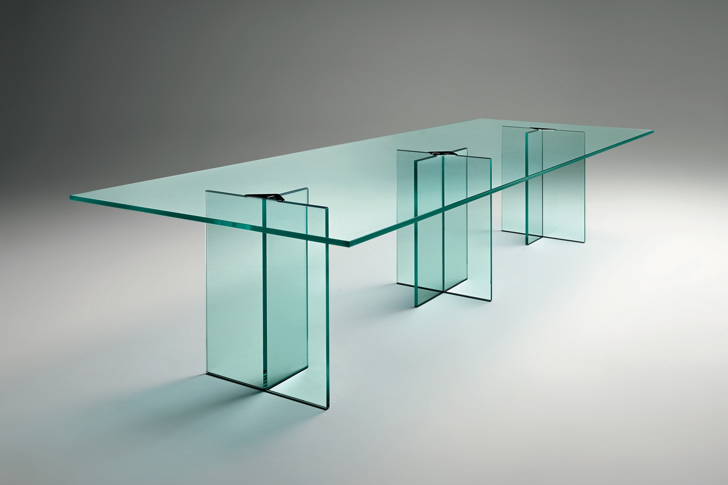 Llt Ofx Meeting Table by Dante O.Benini & Luca Gonzo for Fiam Italia