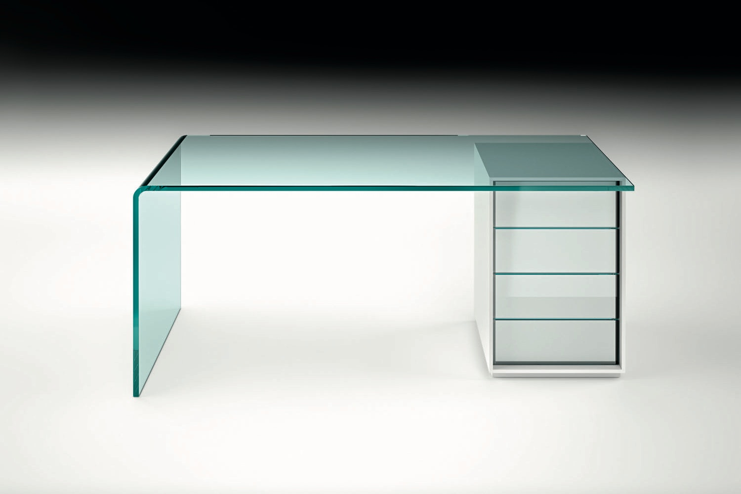 Rialto L Desk by CRS Fiam for Fiam Italia
