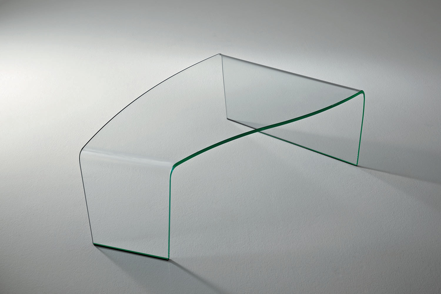 Virgola Coffee Table by Paolo Rizzatto for Fiam Italia