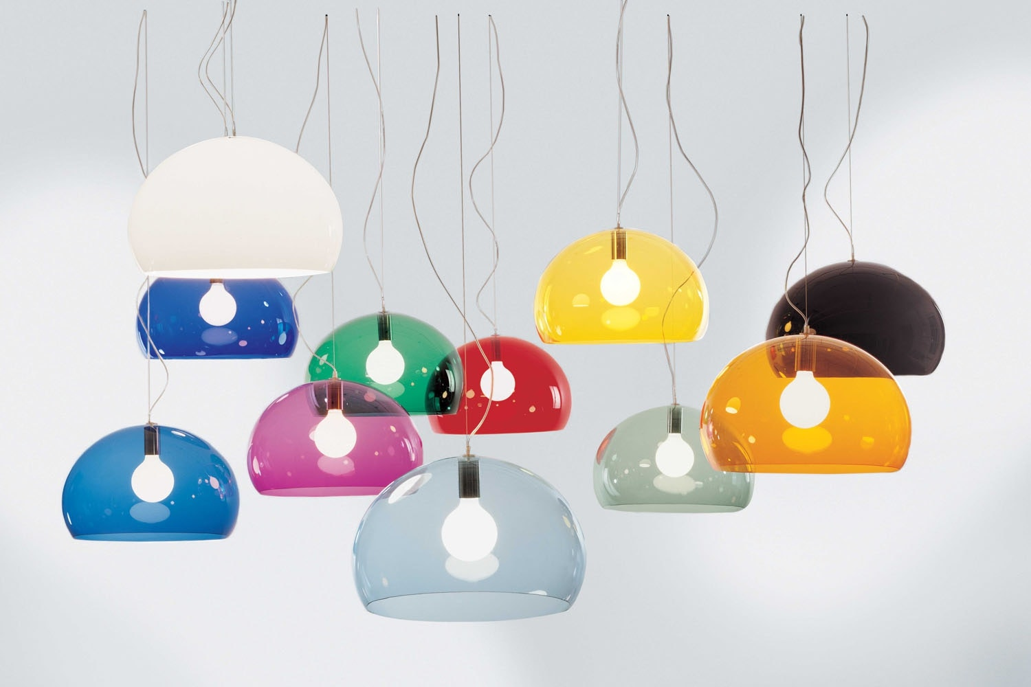 FL/Y Suspension Lamp by Ferruccio Laviani for Kartell