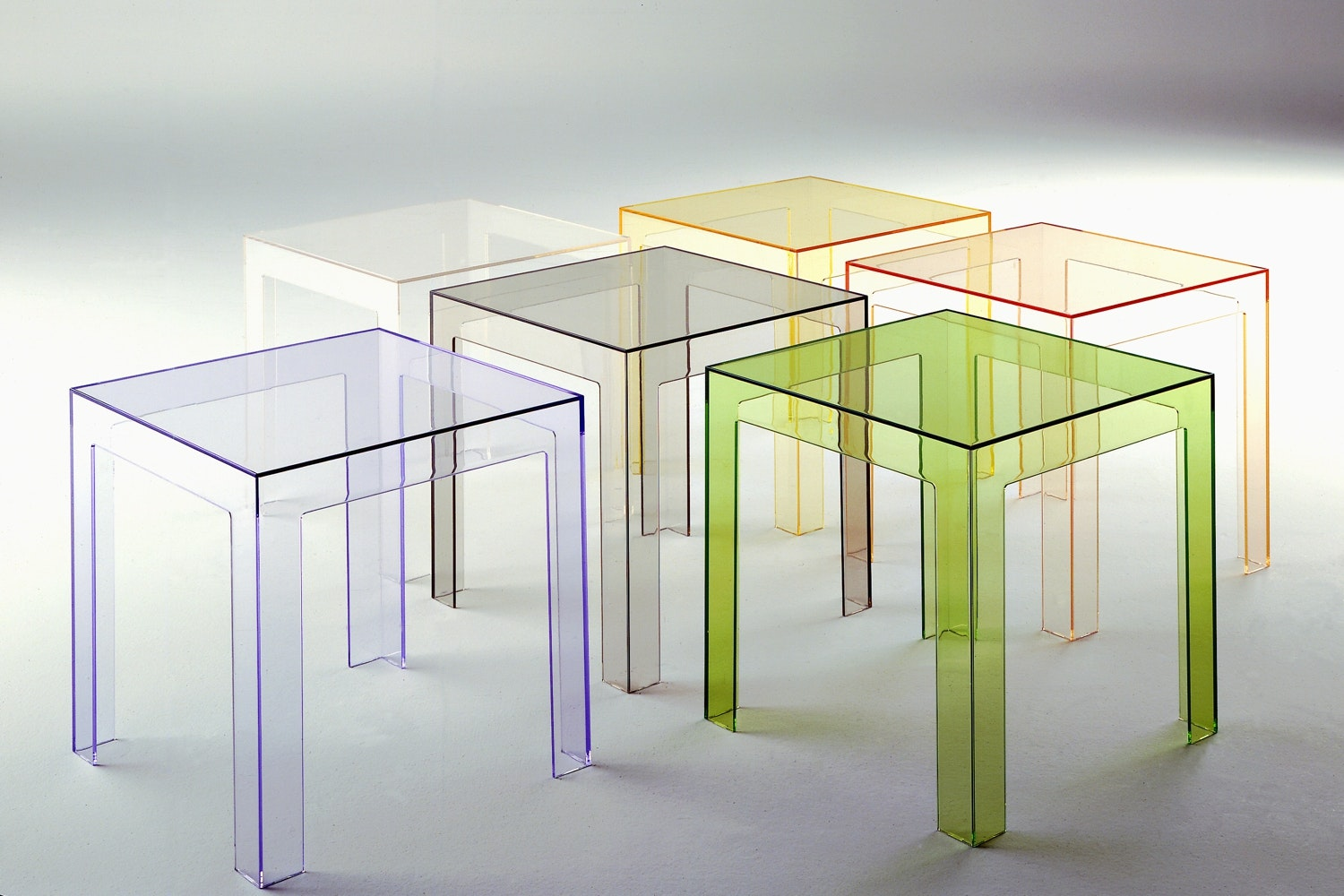 Jolly Low Table by Paolo Rizzatto for Kartell