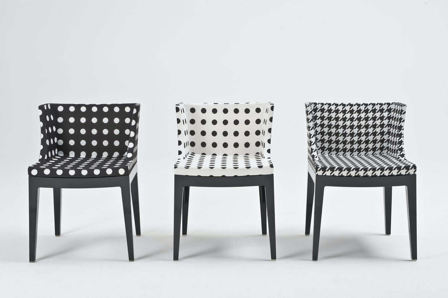 Mademoiselle starck fabric chair by philippe starck for for Sedie design furniture e commerce
