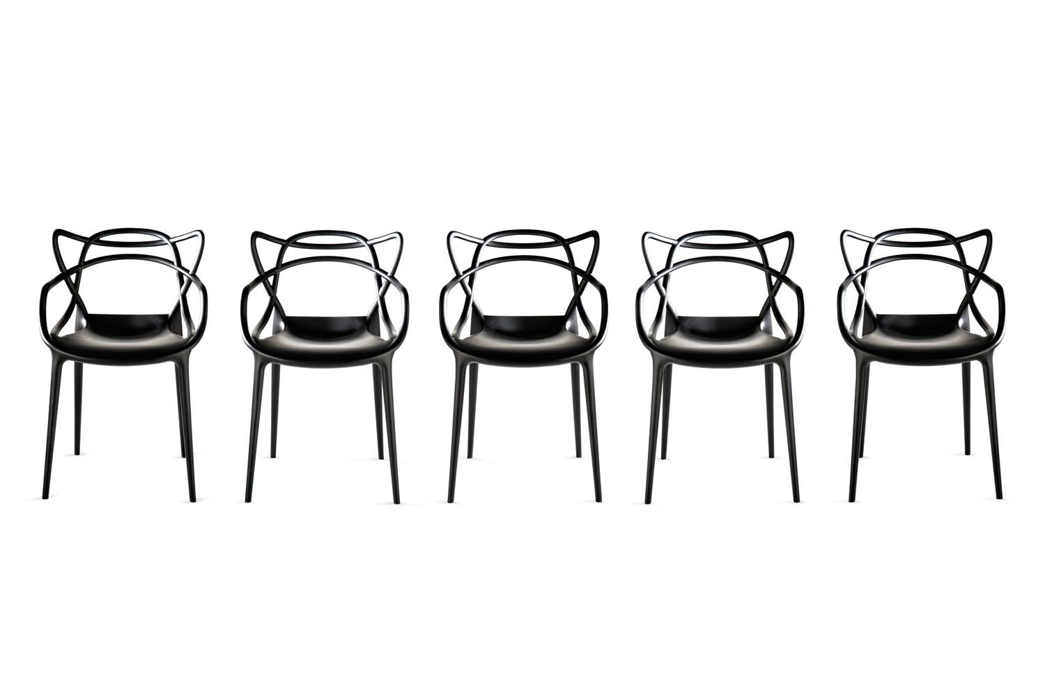 masters chair with arms by philippe starck with eugeni quitllet for