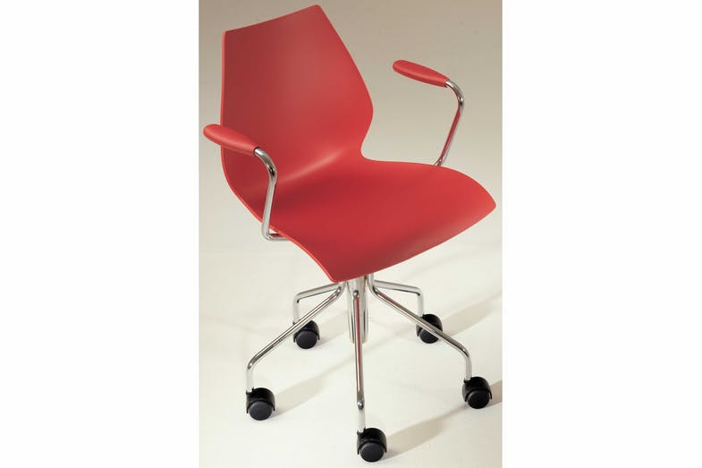 Maui Office Chair by Vico Magistretti for Kartell