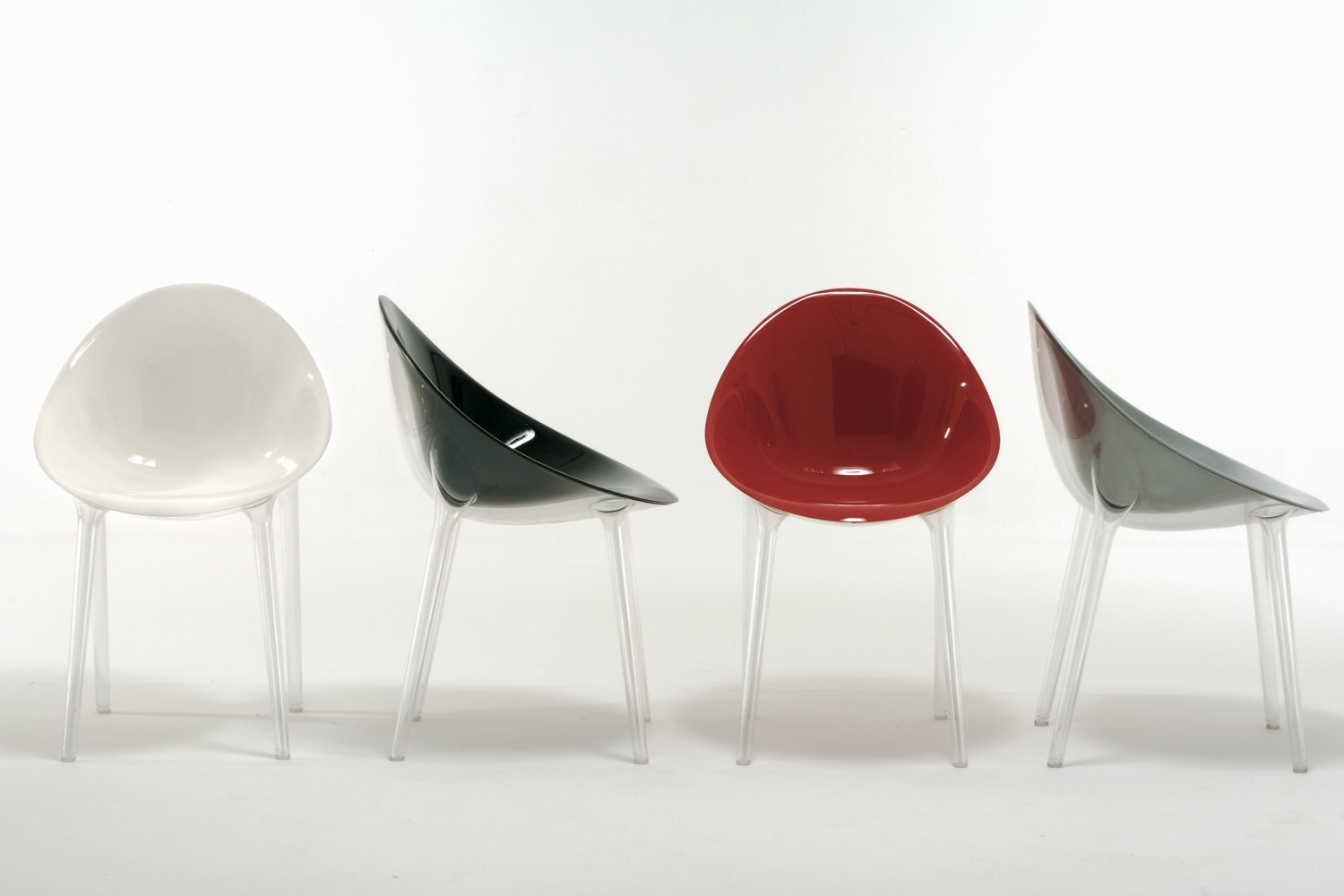 Mr. Impossible Chair by Philippe Starck with Eugeni Quitllet for Kartell