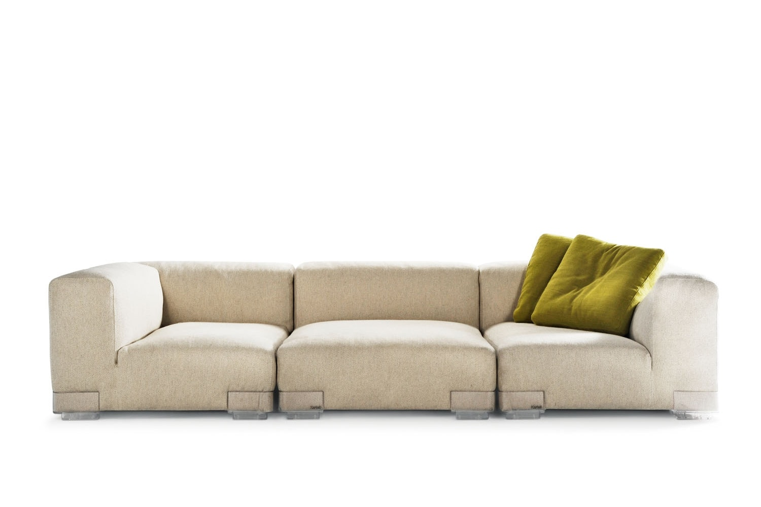 Plastics Duo Sofa by Piero Lissoni for Kartell
