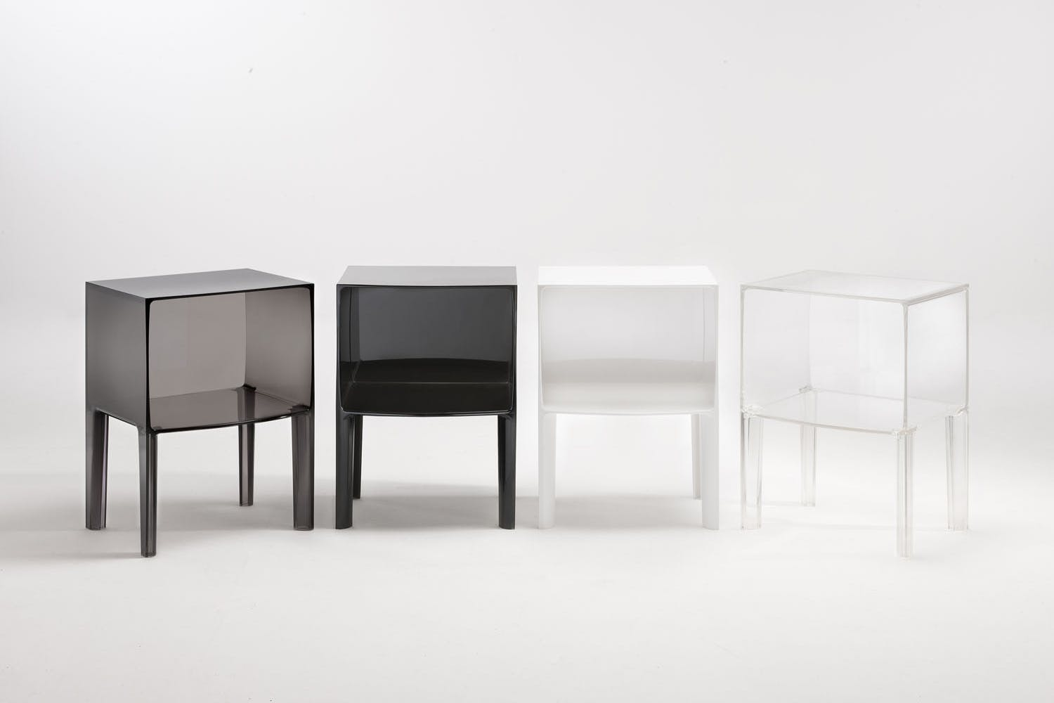 small ghost buster night table by philippe starck with eugeni