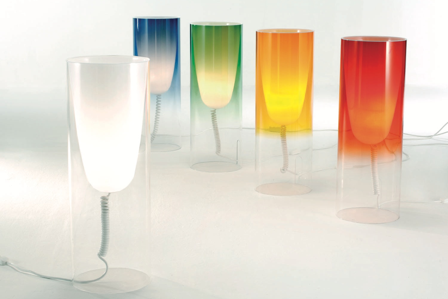 Toobe Table Lamp by Ferruccio Laviani for Kartell