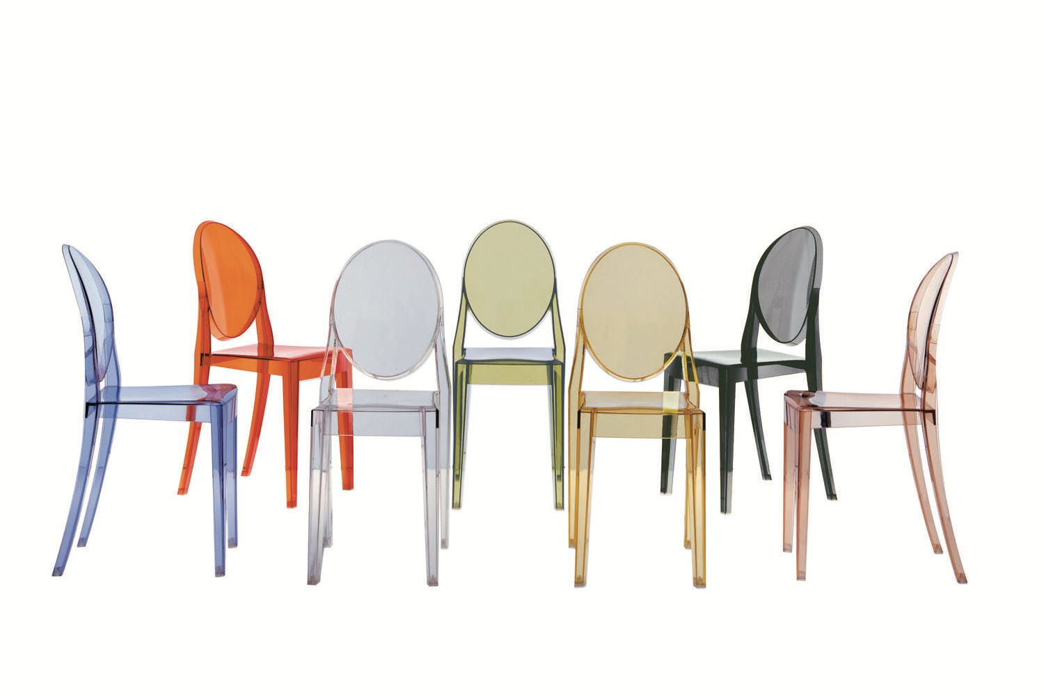 Victoria ghost chair by philippe starck for kartell for Chaise ghost starck
