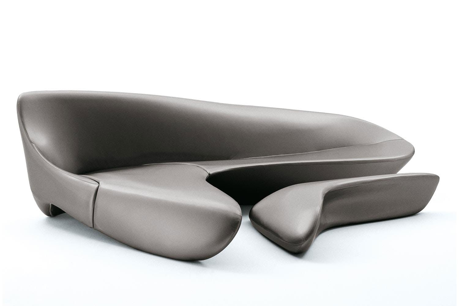 moon system sofa by zaha hadid for b b italia space furniture. Black Bedroom Furniture Sets. Home Design Ideas
