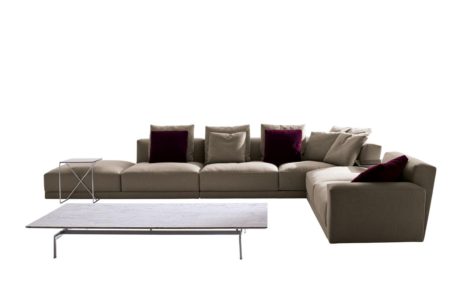 Luis 2012 Sofa by Antonio Citterio for B&B Italia