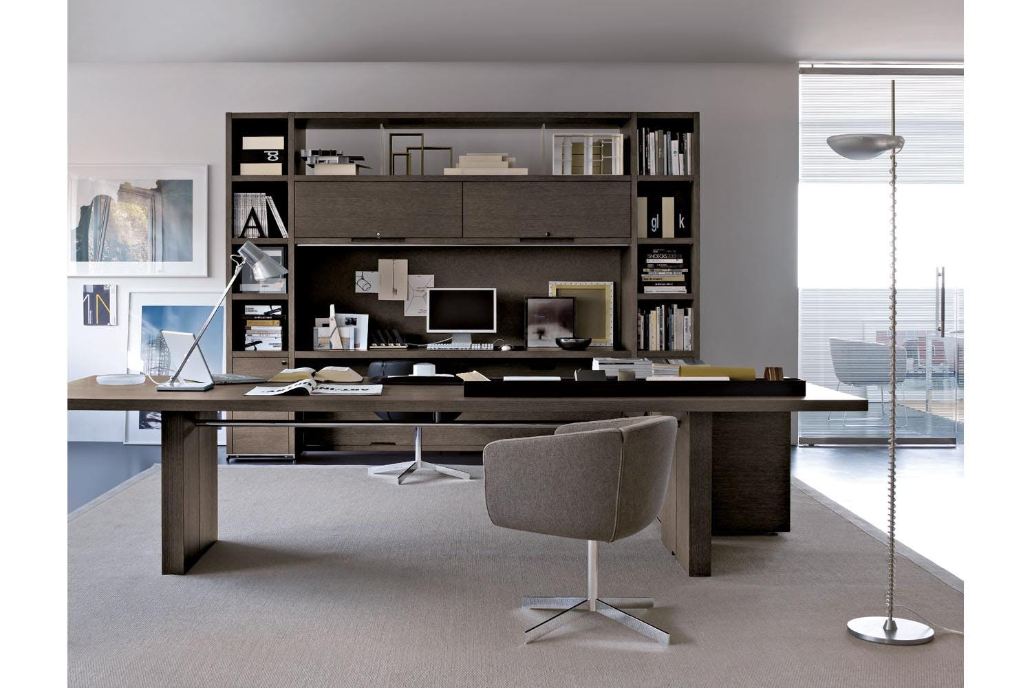 Ac Executive Bookcases By Antonio Citterio For B Amp B