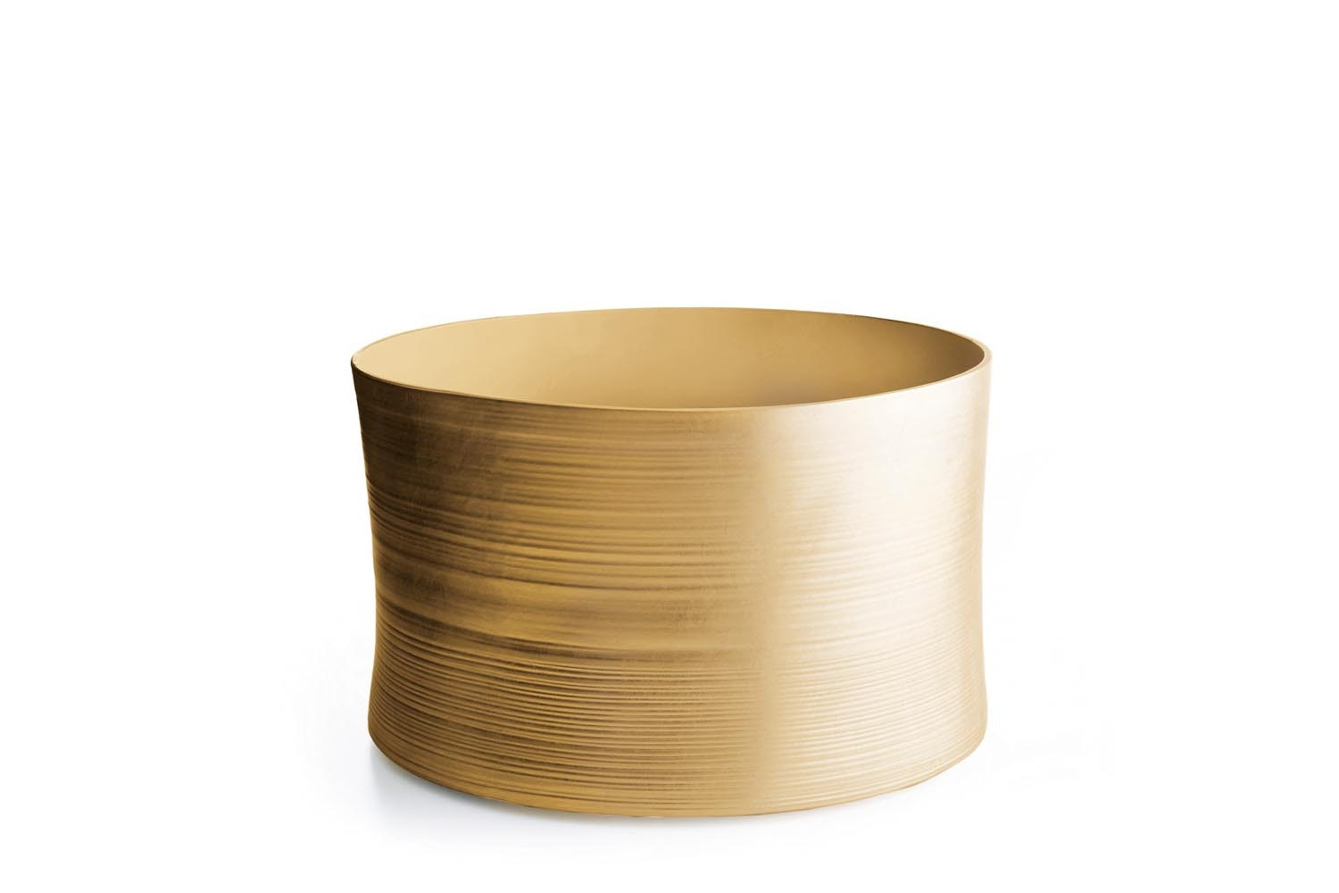 Gold Collection Vase & Stool by Marcel Wanders for B&B Italia