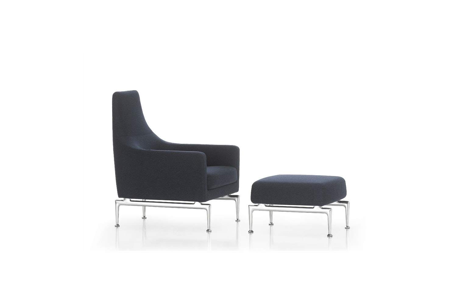 Suita Fauteuil Armchair & Ottoman by Antonio Citterio for Vitra