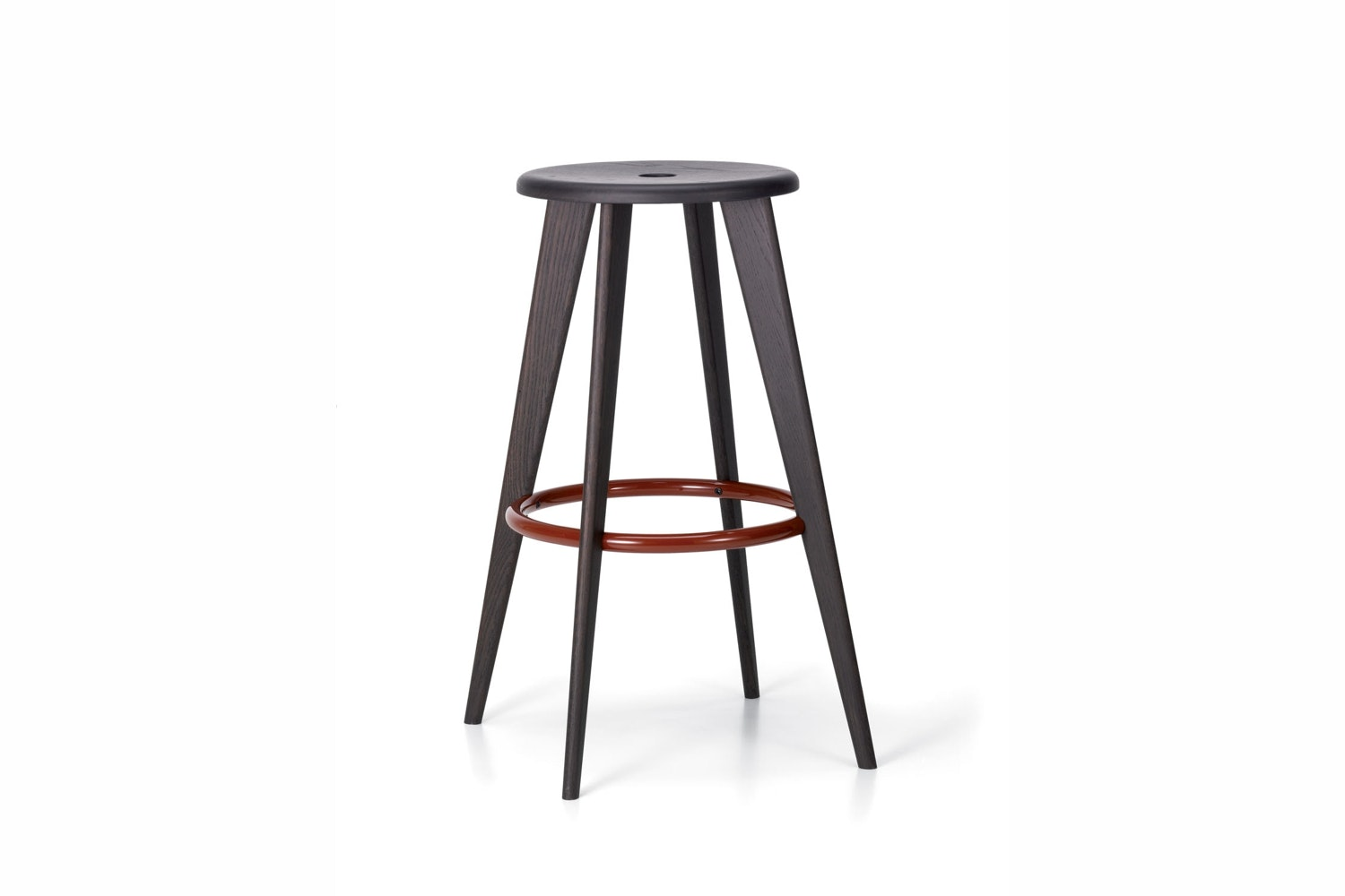 Tabouret Haut Stool by Jean Prouve for Vitra