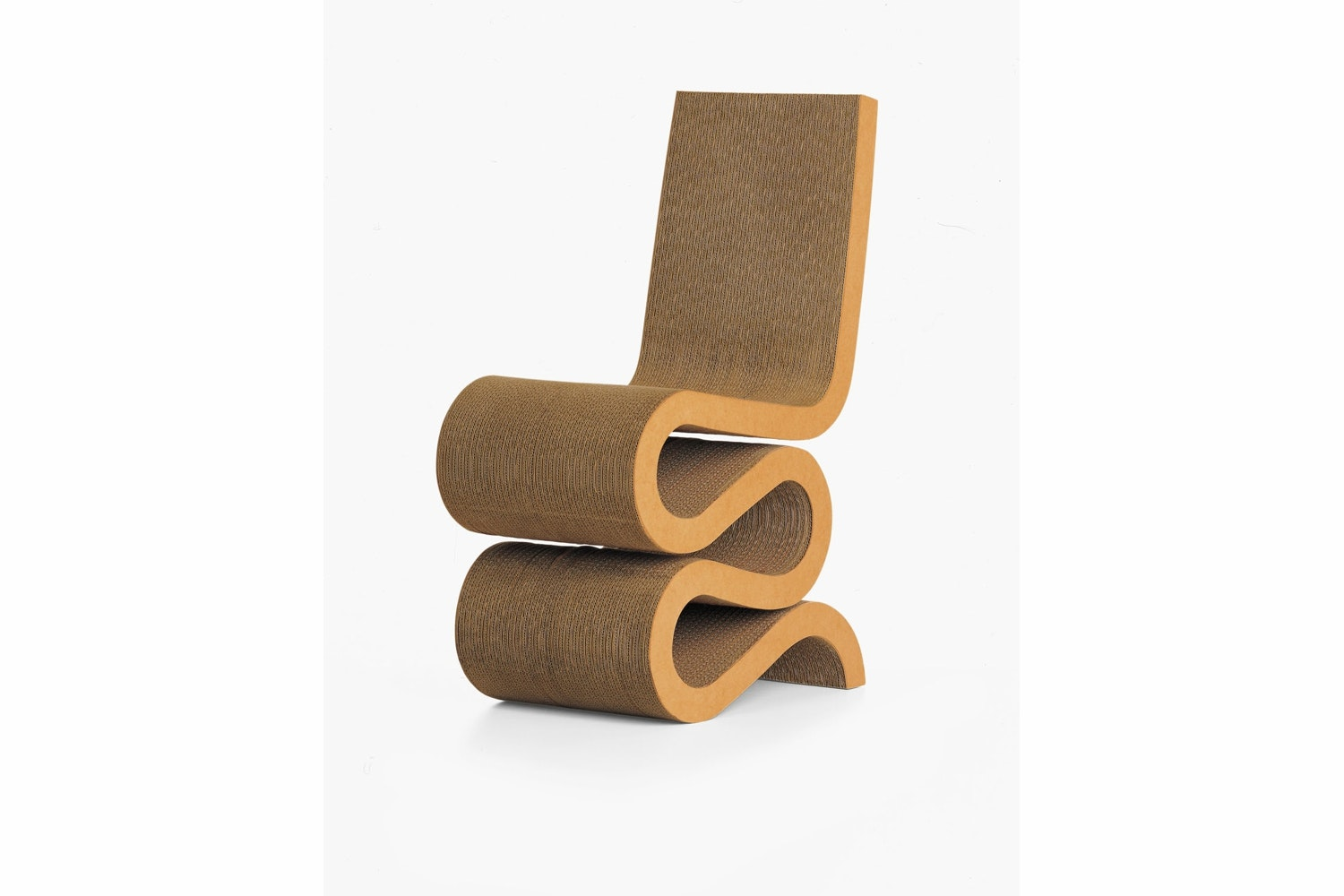 Wiggle Side Chair by Frank Gehry for Vitra