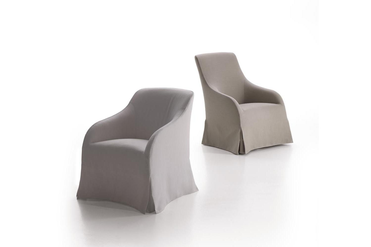 Agathos Armchair by Antonio Citterio for Maxalto