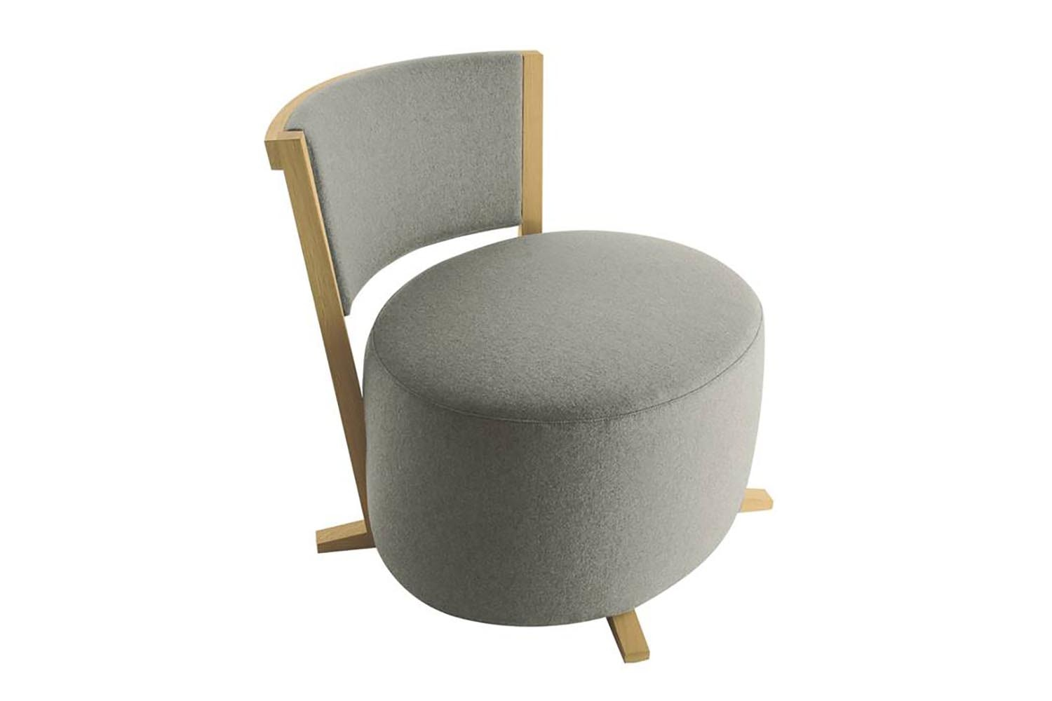 Calliope Armchair & Ottoman by Antonio Citterio for Maxalto