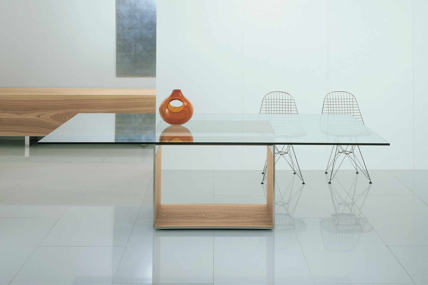 Judd Table by Gabriele & Oscar Buratti for Acerbis