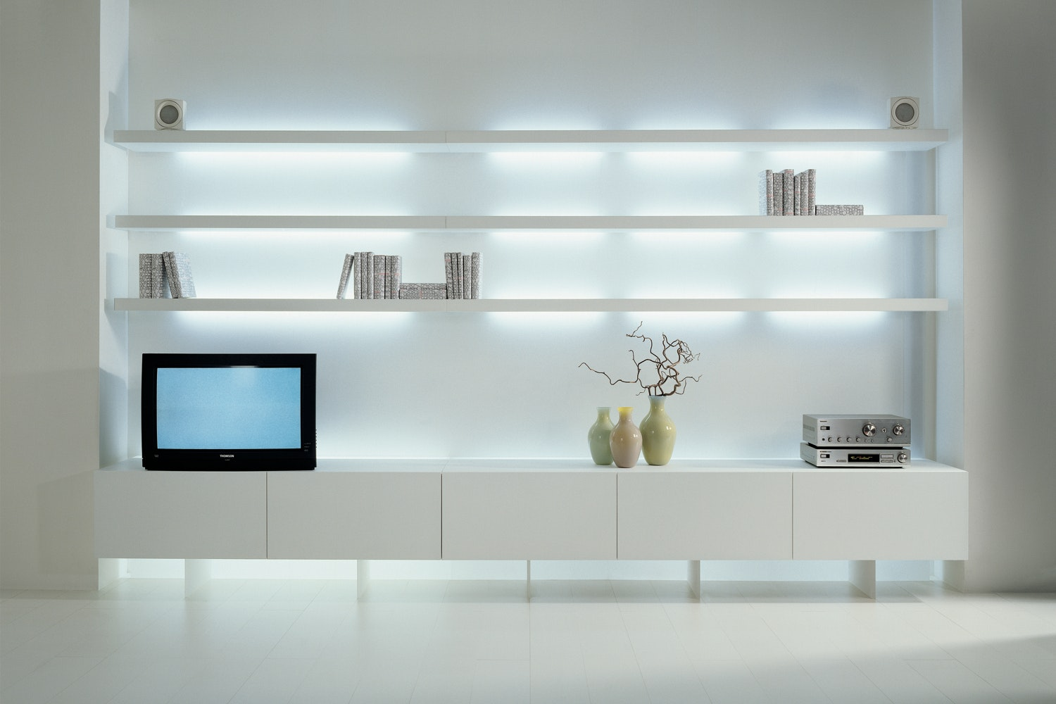 New Concepts Wall Mounted Storage Unit by Lodovico Acerbis, Massimo Castagna for Acerbis