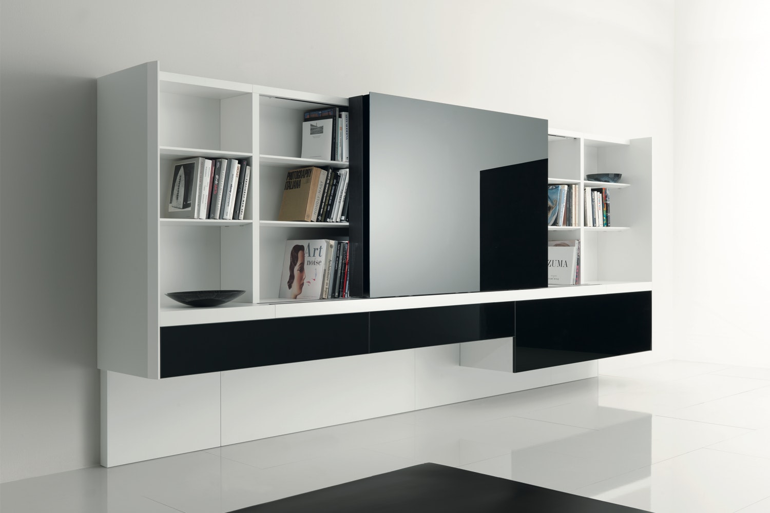Newind Wall Mounted Storage Unit by Gabriele & Oscar Buratti for Acerbis