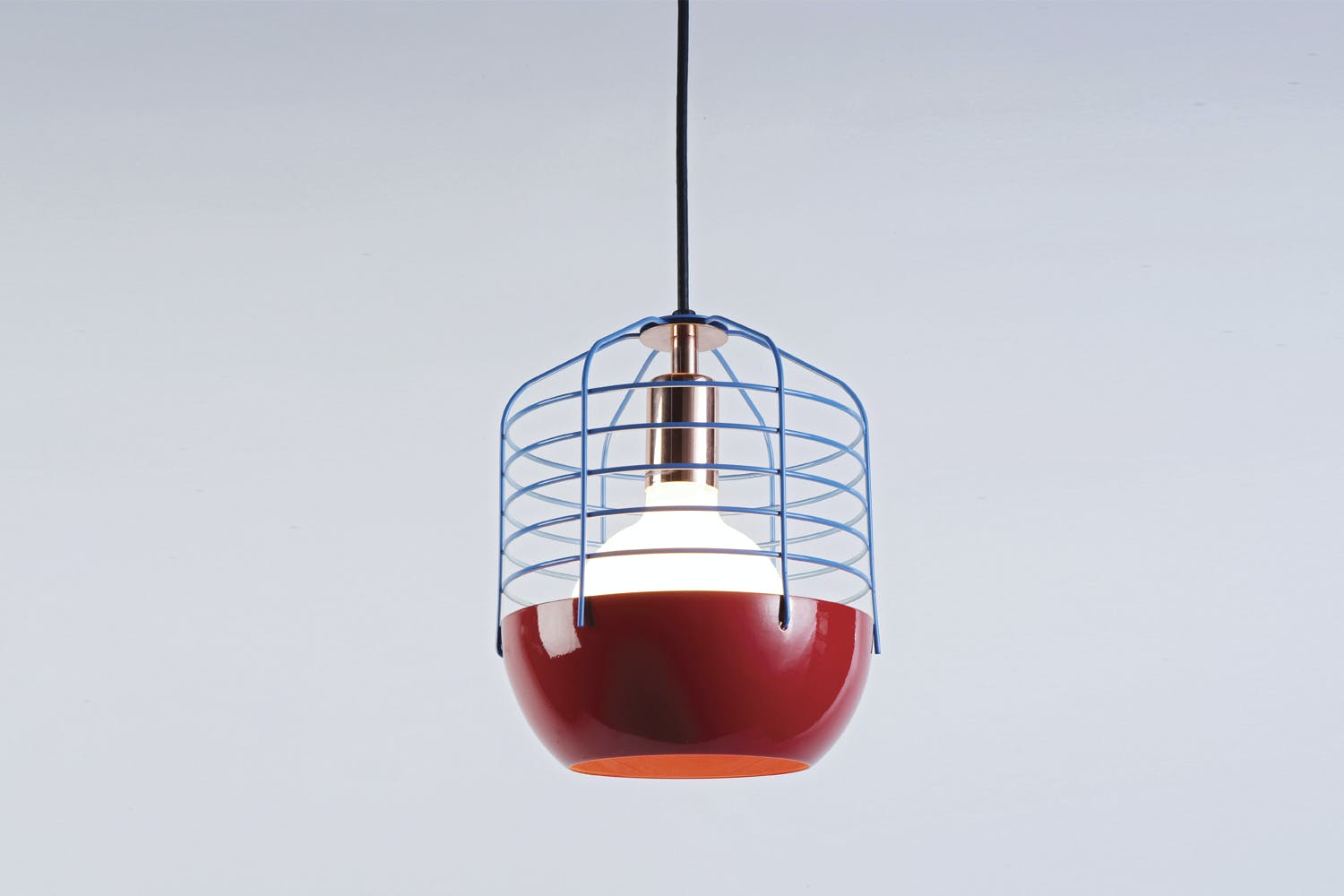 Bluff city suspension lamp by jonah takagi for roll hill for Roll and hill bluff city