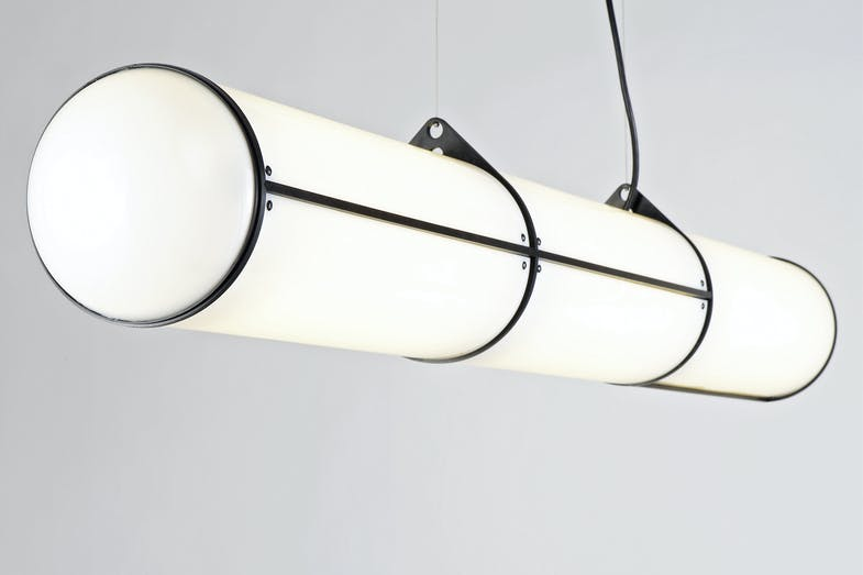 Endless - 3 Units Suspension Lamp by Jason Miller for Roll & Hill