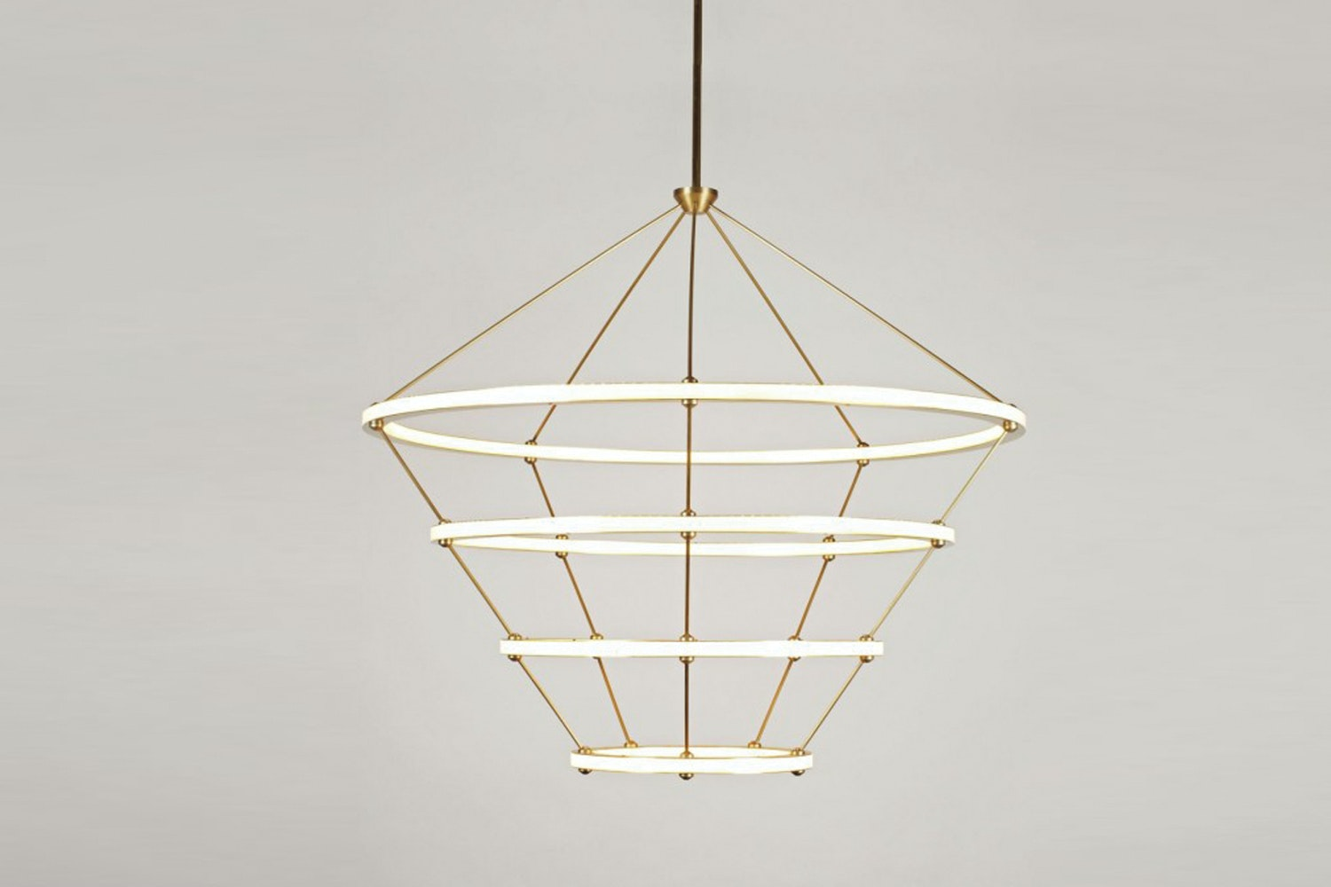 Halo Suspension Lamp by Paul Loebach for Roll & Hill