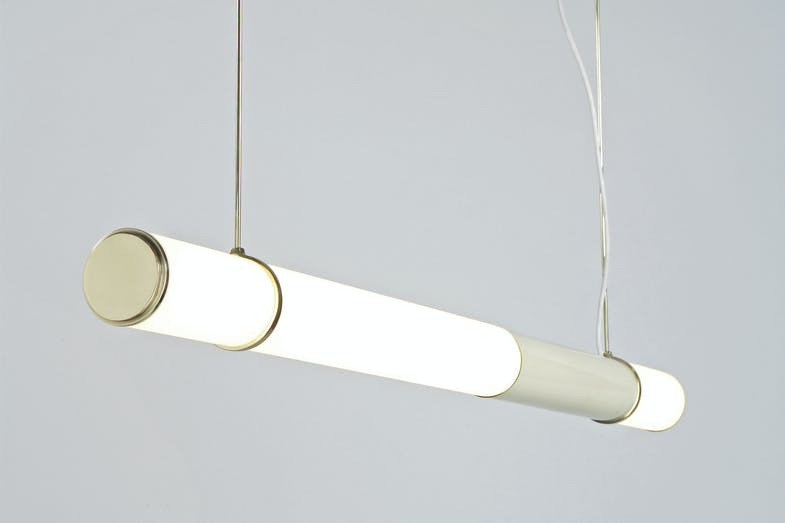 Mini Endless Suspension Lamp by Jason Miller for Roll & Hill