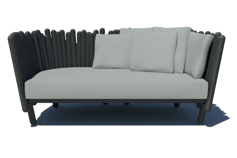 Canisse sofa by philippe nigro for serralunga space for Serralunga furniture