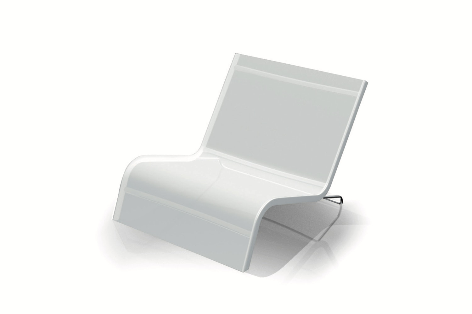 Lazy Deckchair Chaise by Michel Boucquillon for Serralunga