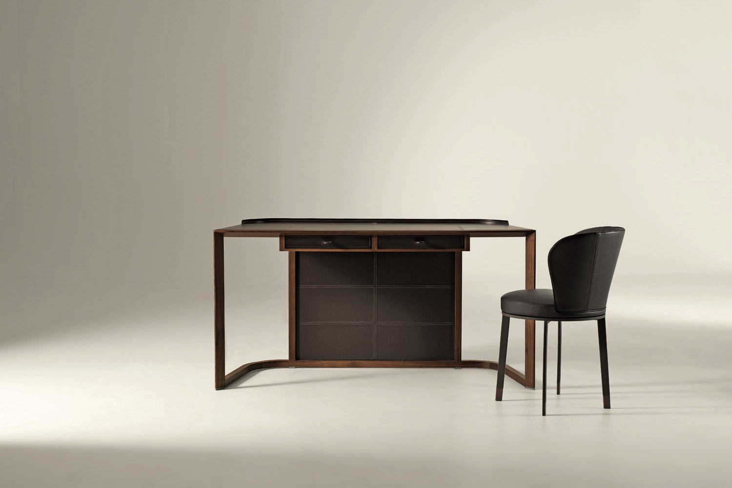 Ion Desk by Chi Wing Lo for Giorgetti
