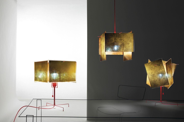 24 Karat Blau Suspension Lamp by Axel Schmid for Ingo Maurer