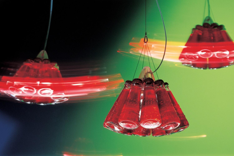 Campari Light Suspension Lamp by Raffaele Celentano for Ingo Maurer