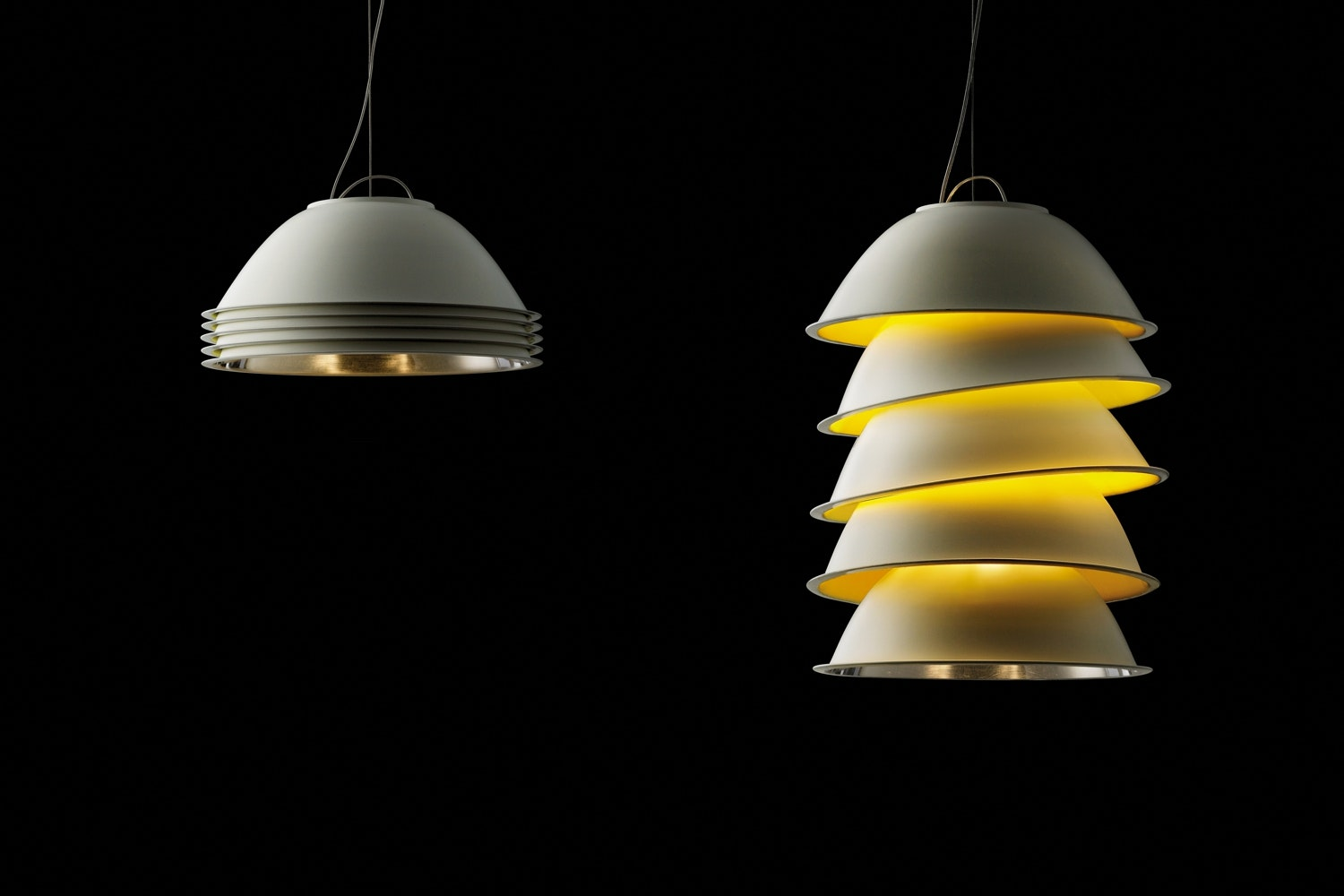 Five Pack Suspension Lamp by Axel Schmid for Ingo Maurer