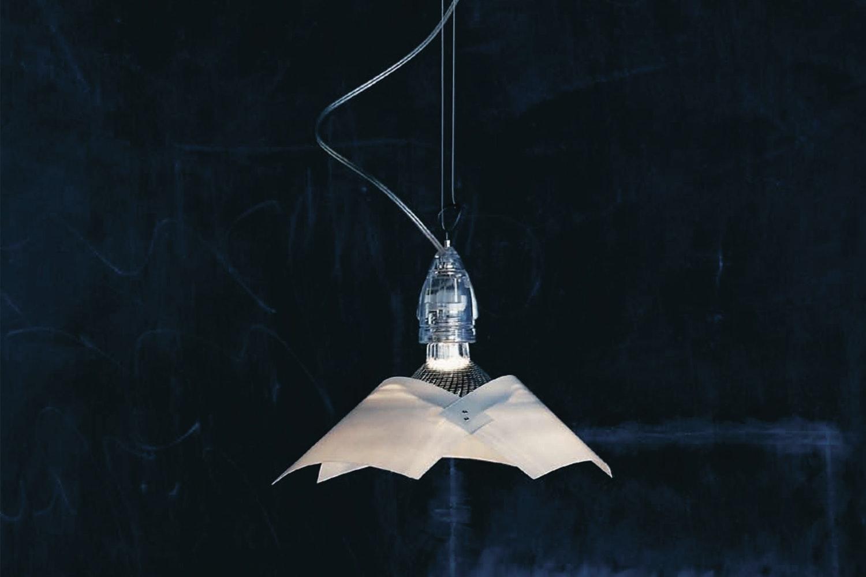Lucetto Suspension Lamp by Bernhard Dessecker, Ingo Maurer und Team for Ingo Maurer