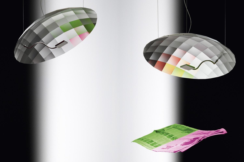 Lunatic Suspension Lamp by Tobias Reischle, Ingo Maurer und Team for Ingo Maurer