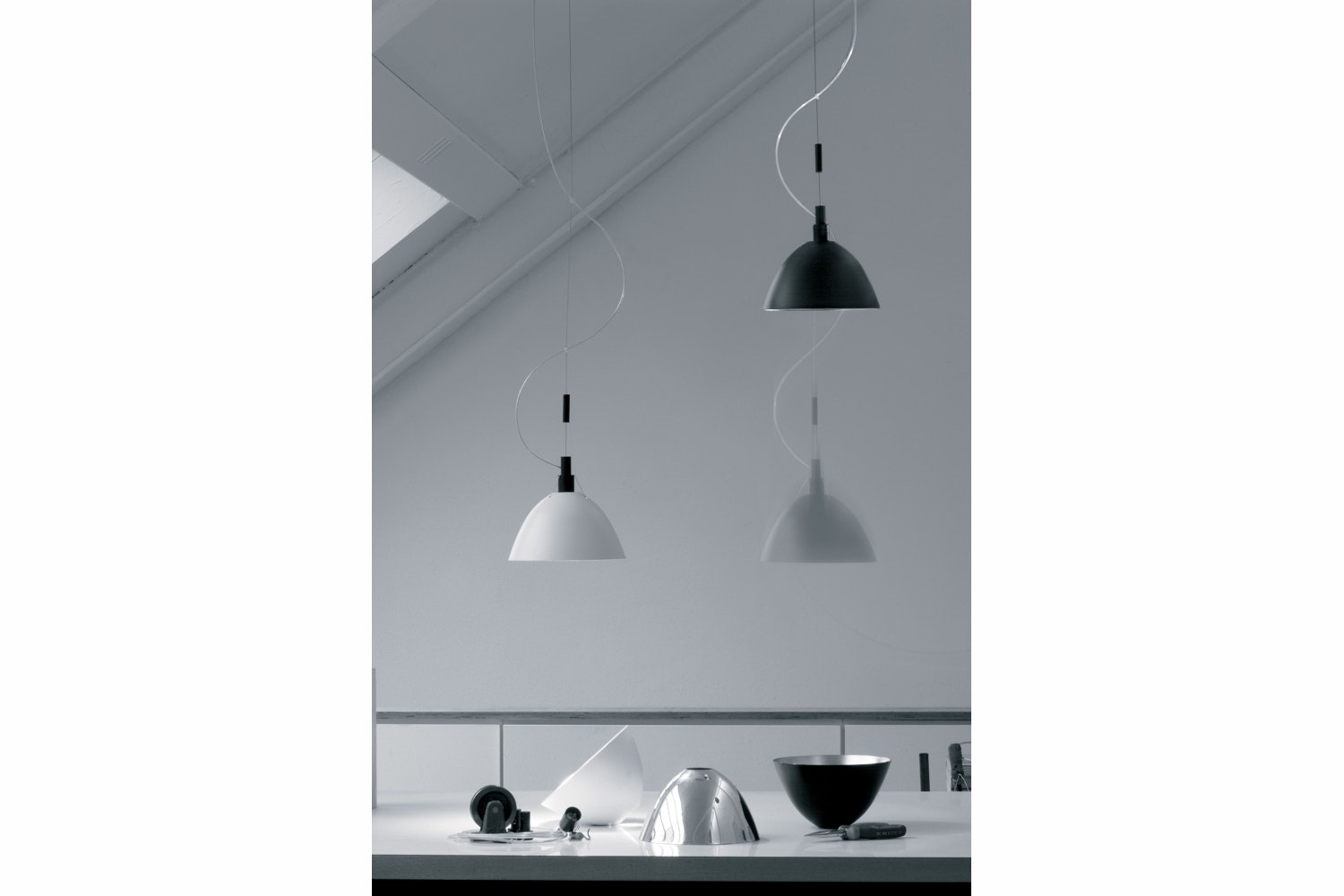 Max.Up & Down Suspension Lamp by Ingo Maurer for Ingo Maurer