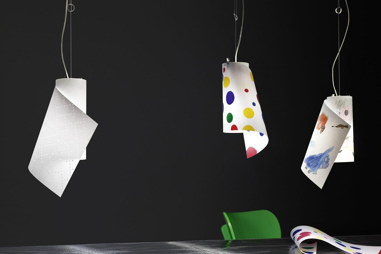 WATT.WATT Suspension Lamp by Eric McNeil, I.M. Team for Ingo Maurer