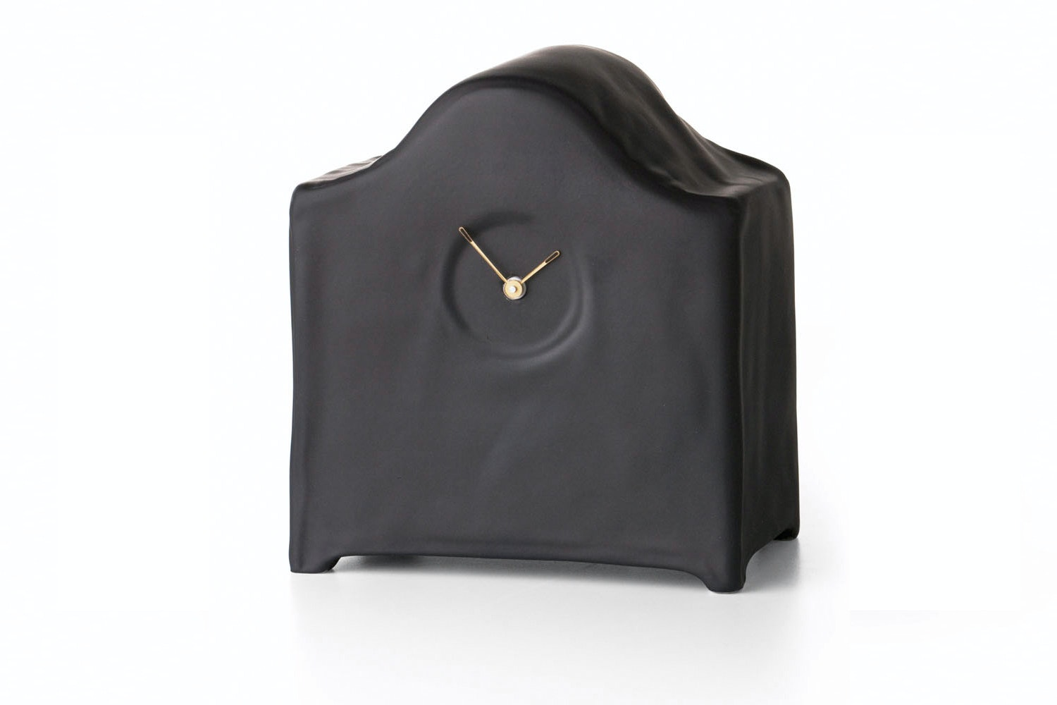 Soft Clock Black by Kiki van Eijk for Moooi