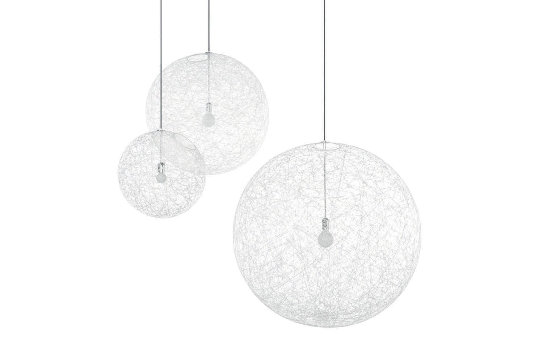 Random Light Large White Suspension Lamp by Bertjan Pot for Moooi