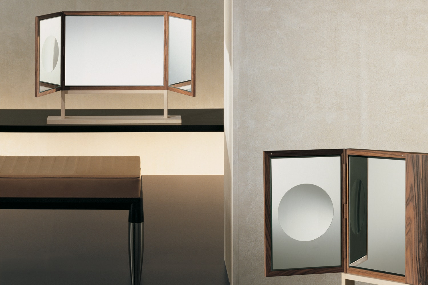 Ara Mirror by Chi Wing Lo for Giorgetti